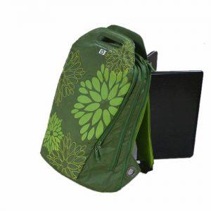 balo laptop golla green