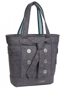 Ogio Hampton's Women's Tote (Màu Light Gray Felt)