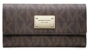 Micheal Kors Checkbook Wallet