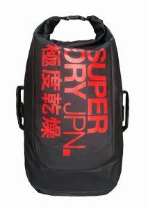 Superdry Scuba Backpack (Màu Đen/Đỏ)