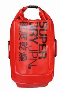 Superdry Scuba Backpack (Màu Đỏ/Đen)