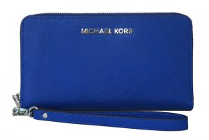 Michael Kors Multi Function For Iphone 6+ Wallet (Màu Xanh Cobalt)