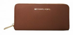 Michael Kors Jet Set Travel Zip-Around Saffiano Leather Continental Wallet
