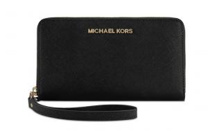 Michael Kors Large Zip Wallet (Màu Đen)