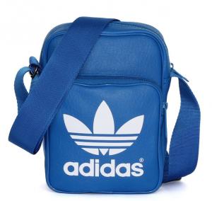 Adidas Originals Classic Mini Bag (Màu Xanh/Trắng)