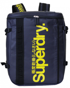 Superdry Sbox Tarpaulin Backpack (Màu Midnight/Vàng)