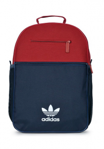 Adidas Originals Trefoil Backpack – Màu Đỏ/Navy