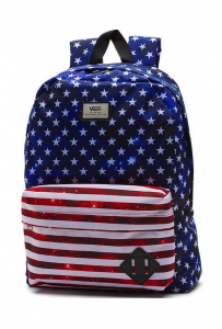 Vans Off The Wall Old Skool 2 Americana Stars Stripes Backpack New NWT
