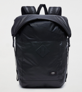 Vans Fend Roll Top Backpack – VA36YJBLK – Màu Đen