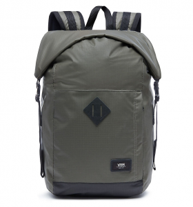 Vans Fend Roll Top Backpack – VA36YJBLK – Màu Xanh Rêu