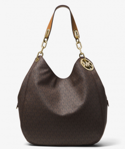 Michael Kors Fulton Large Shoulder Bag – Màu Nâu