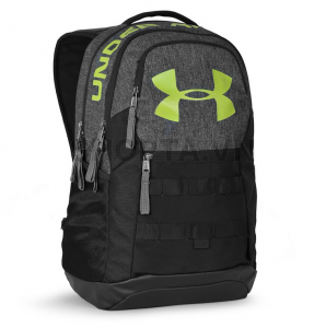 Under Armour Big Logo 5.0 Backpack – Màu Đen/Xanh Lá