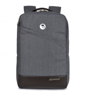 Mikkor The Norris Backpack – Màu Xám