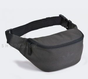 Adidas Waist Belt Bag – Màu Dark Grey