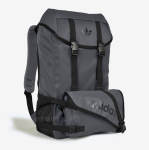 Adidas Topload Double Backpack – Màu Xám