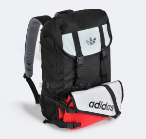 Adidas Topload Double Backpack – Màu Đen