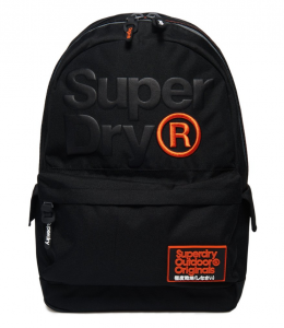 Superdry High Build Lineman Montana Rucksack – Màu Đen