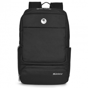 Mikkor The Royce Backpack – Màu Đen