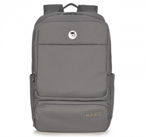 Mikkor The Royce Backpack – Màu Xám