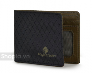 Eagle Creek RFID Bi-Fold Wallet – Màu Đen