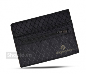 Eagle Creek RFID International Tri-Fold Wallet – Màu Đen