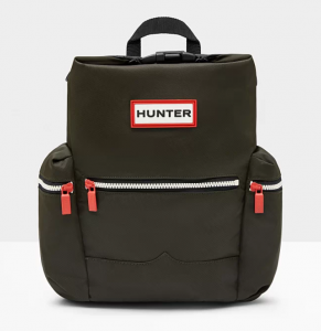 Hunter Mini Top Clip Backpack – Màu Dark Olive