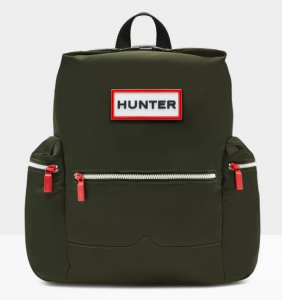 Hunter Top Clip Backpack – Màu Dark Olive