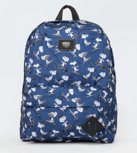 Vans X Peanuts Old Skool Backpack – Màu Xanh