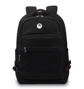 Mikkor The Eli Backpack – Màu Đen