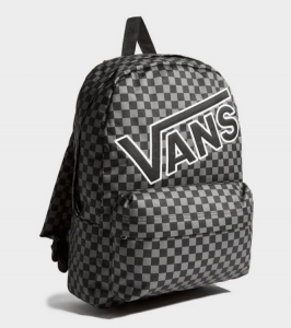 Vans JD Old Skool Backpack – Xám/Đen