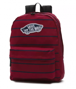 Vans Realm Backpack – Màu Red Stripe