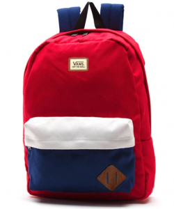 Vans Old Skool II Backpack – Màu Reinvent Red Colourblock
