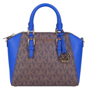 Michael Kors Ciara Large Satchel – Màu Electric Blue