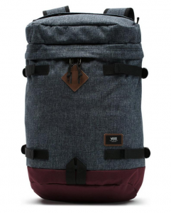 Vans Clamber Backpack – Màu Xám/Bordeaux